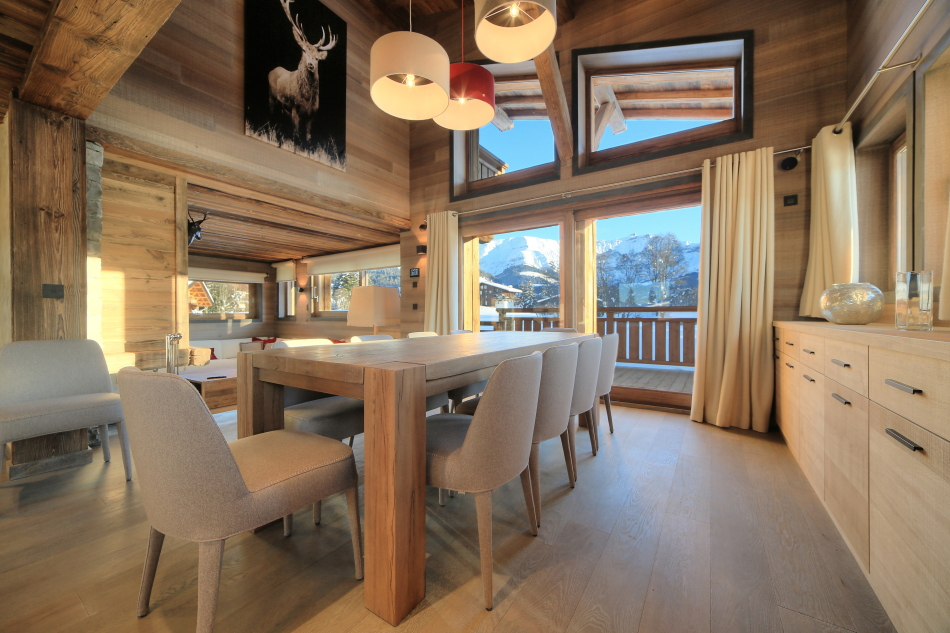 See details MEGEVE Villa 8 rooms (4306 sq ft), 5 bedrooms